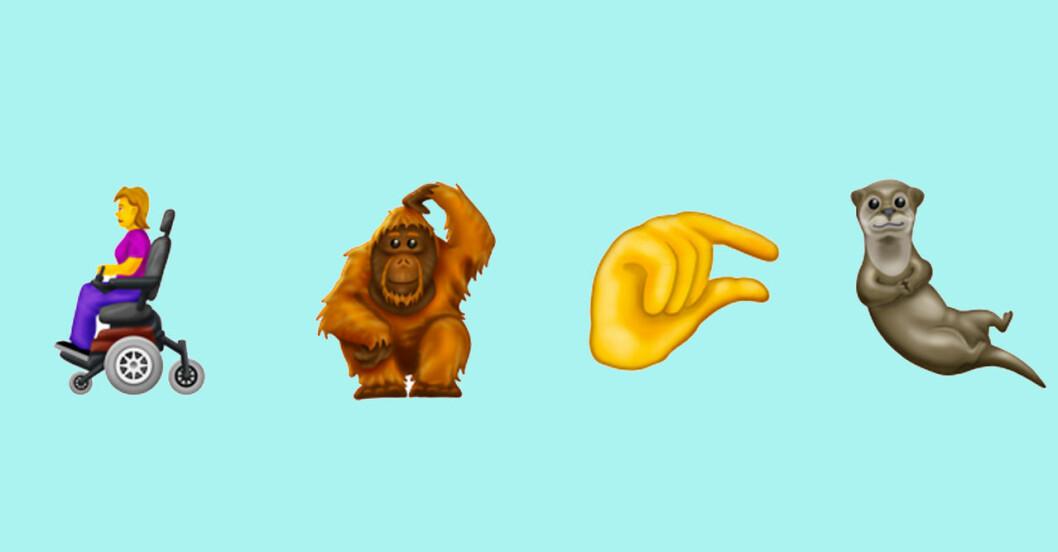 Nya emojis 2019 se alla här!