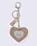 Nyckelring med hjärta från Gina tricot