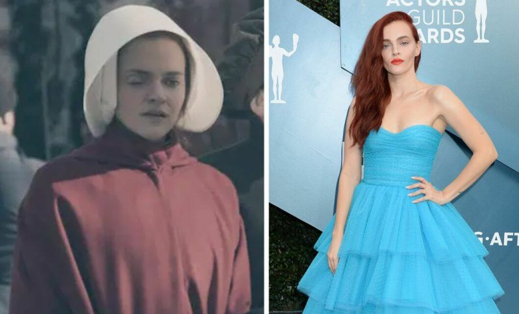 Janine i The Handmaid's tale och Madeline Brewer
