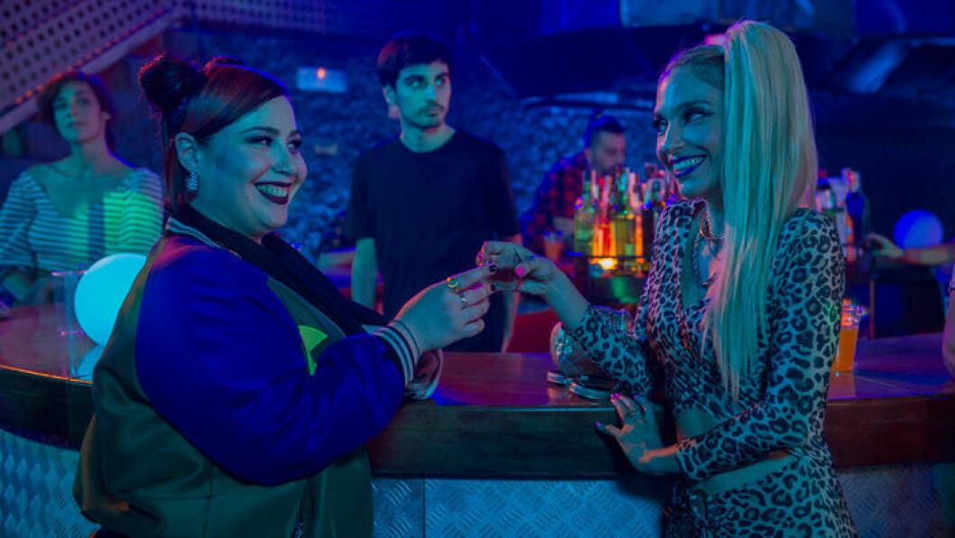 En bild från den spanska tv-serien One Way Or Another.