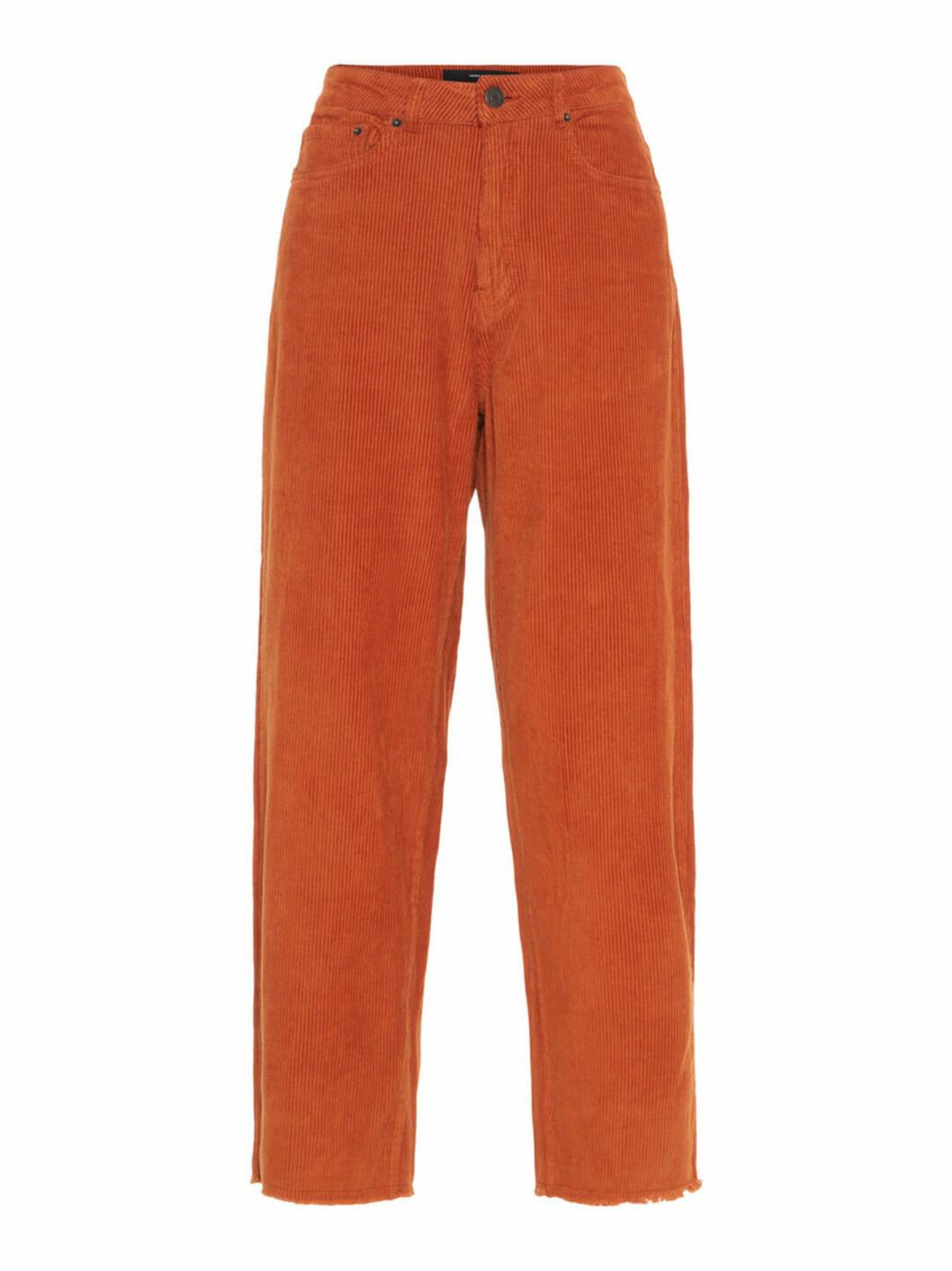 Orange manchesterbyxor
