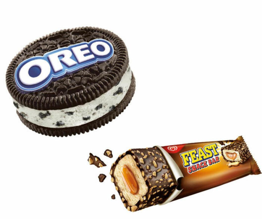 Oreo-glassen och Fast Snack Bar har gjort sitt.