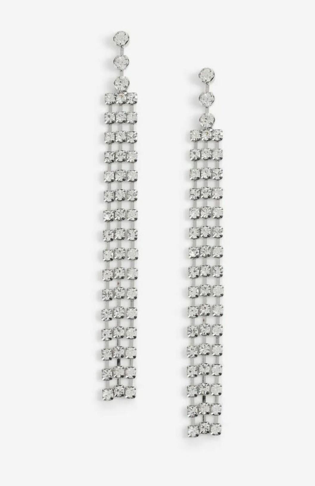 Örhängen med strass från Gina tricot