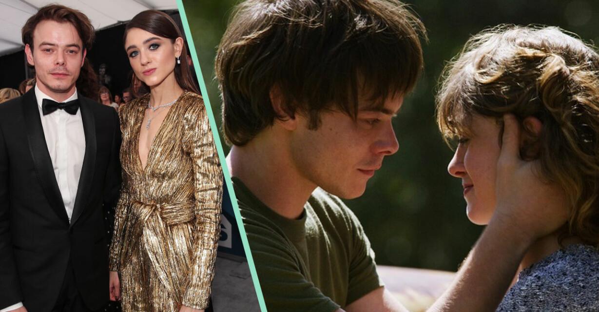 Natalia Dyer och Charlie Heaton – Stranger Things
