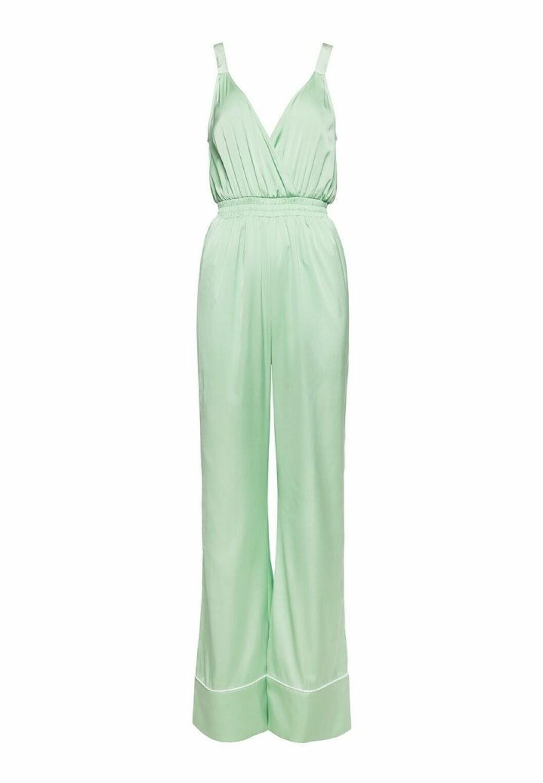 Pastellfärgad grön jumpsuit