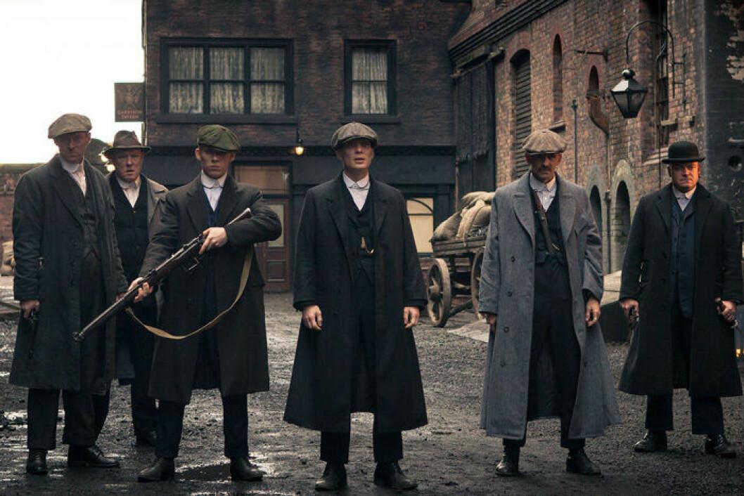 En bild ur tv-serien Peaky Blinders, som visas på streamingtjänsten C More.