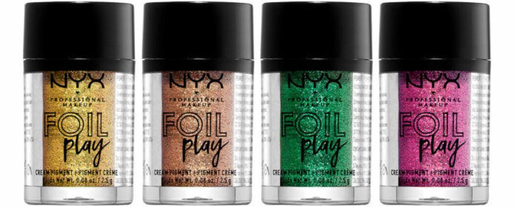 Pigmenterade pigment från NYX