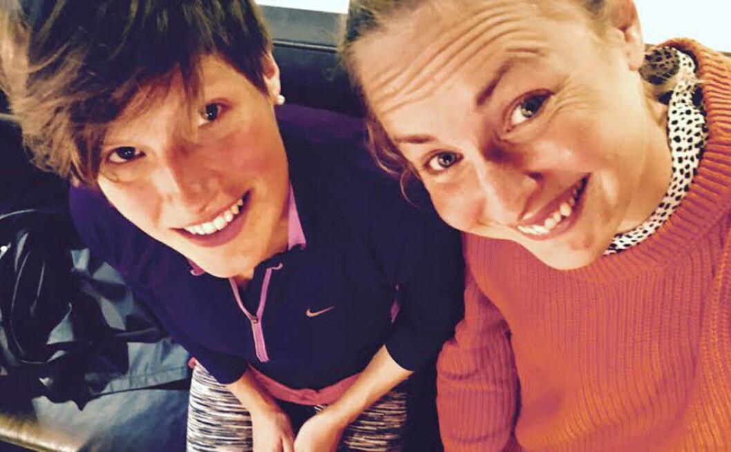 Veronica Gidén och Tone Pedersen är båda involverade i Pink Programming.