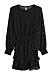 Prickig klänning med resår i midjan, från Gina tricot
