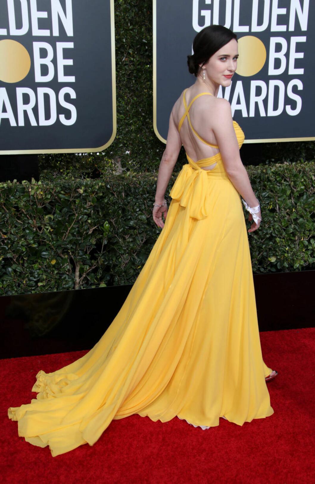 Rachel Brosnahan Golden Globe 2019