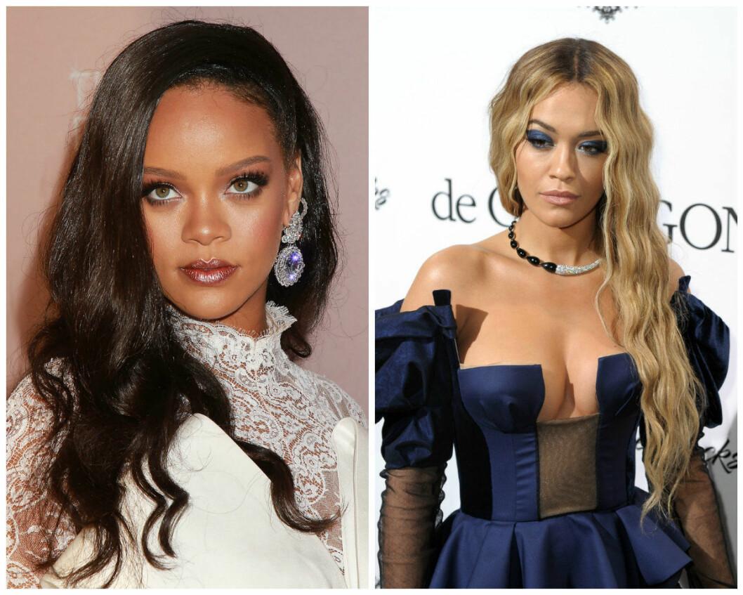 Lika som bär: Rihanna Rita Ora