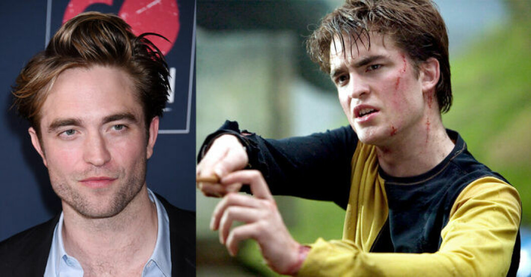 Robert Pattison i Harry Potter