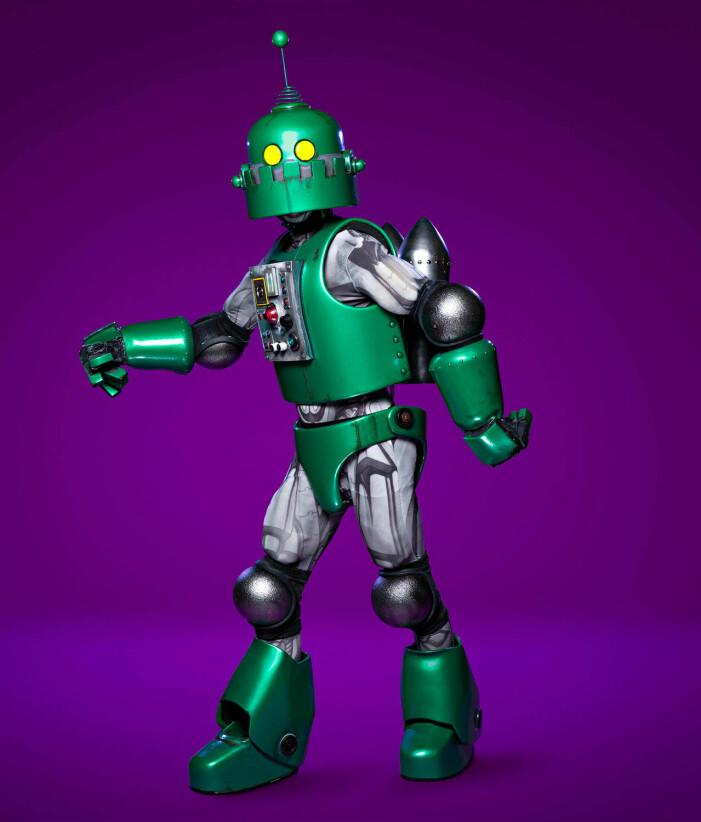 Roboten i Masked Singer 2021