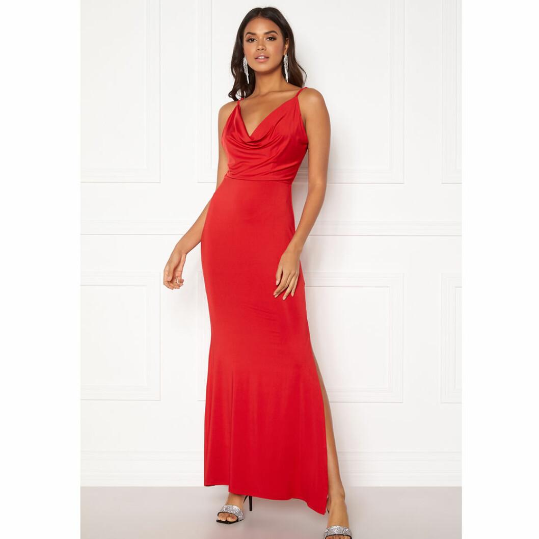 Röd balklänning från Bubbleroom