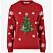 Jultröja i butik 2019 som är röd