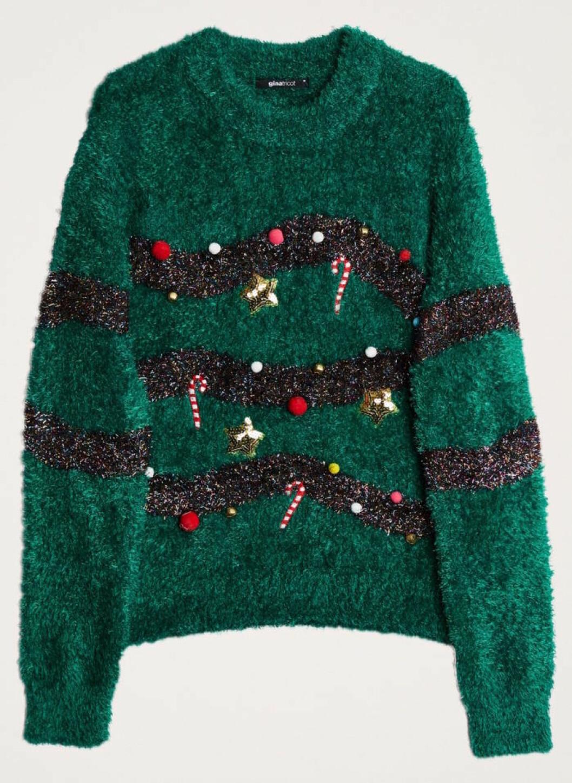 Grön jultröja till julen 2018