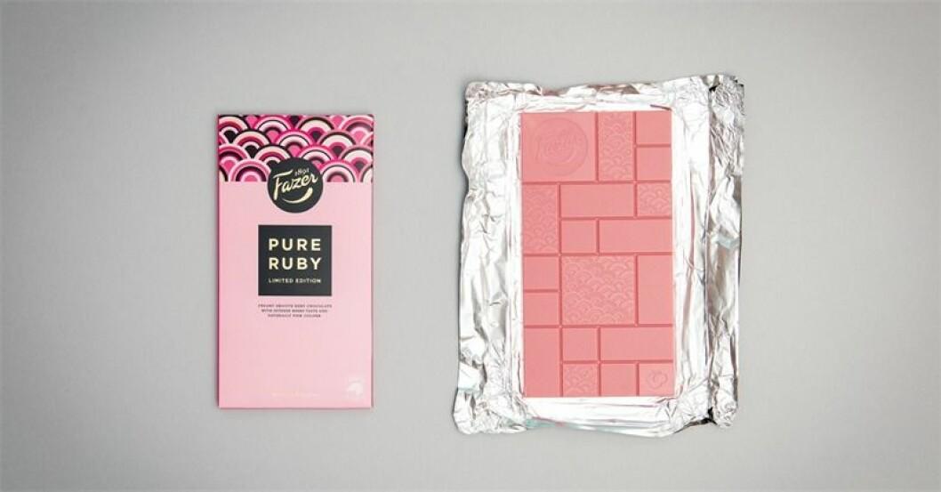 Fazer släpper rosa choklad i begränsad upplaga