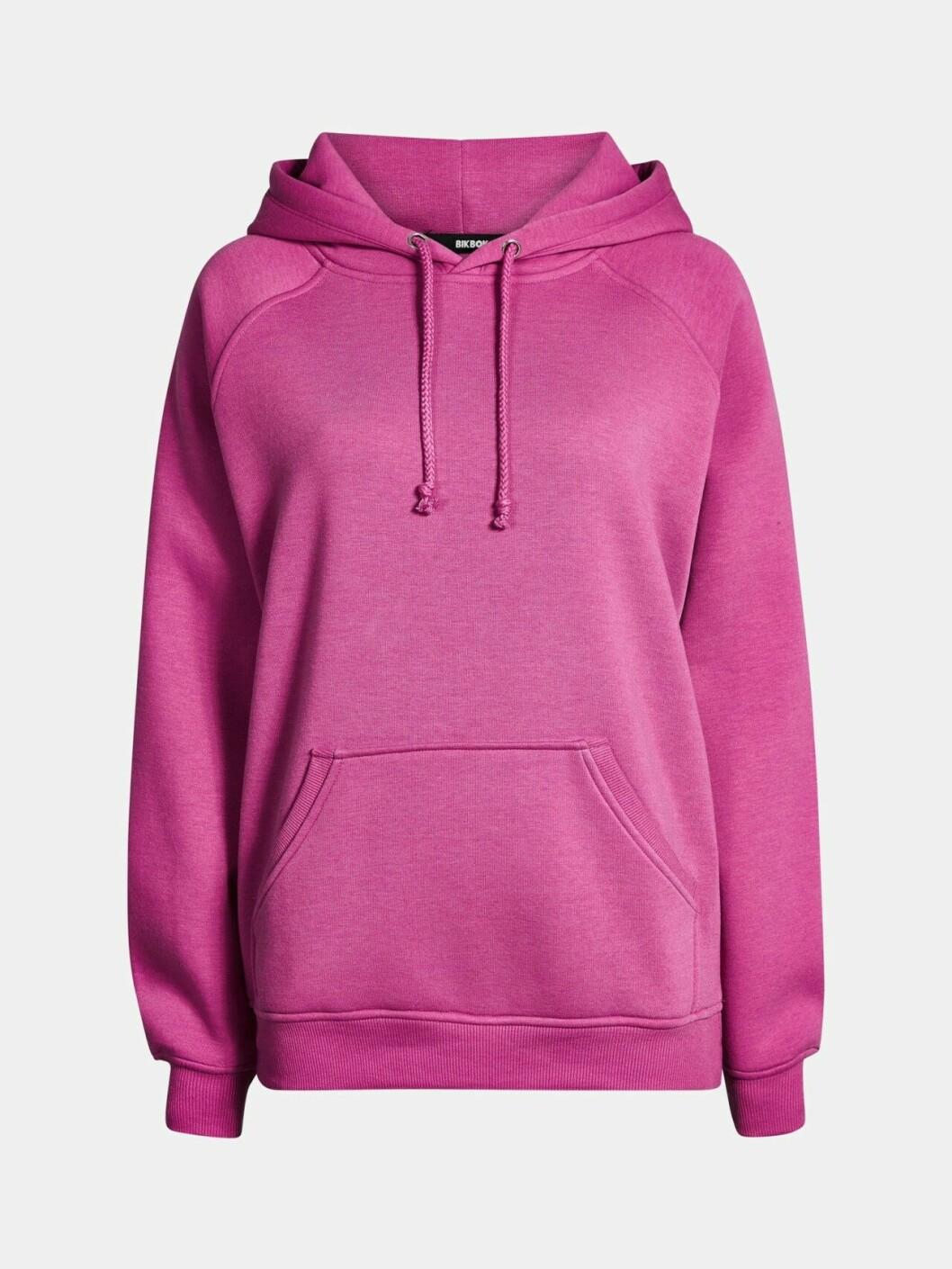Rosa hoodie för dam till våren 2019