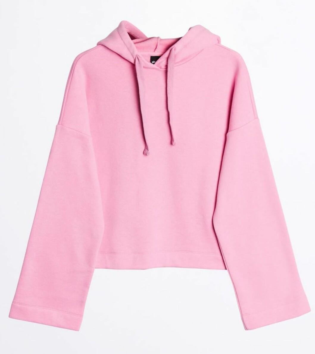 Rosa hoodie till våren 2019