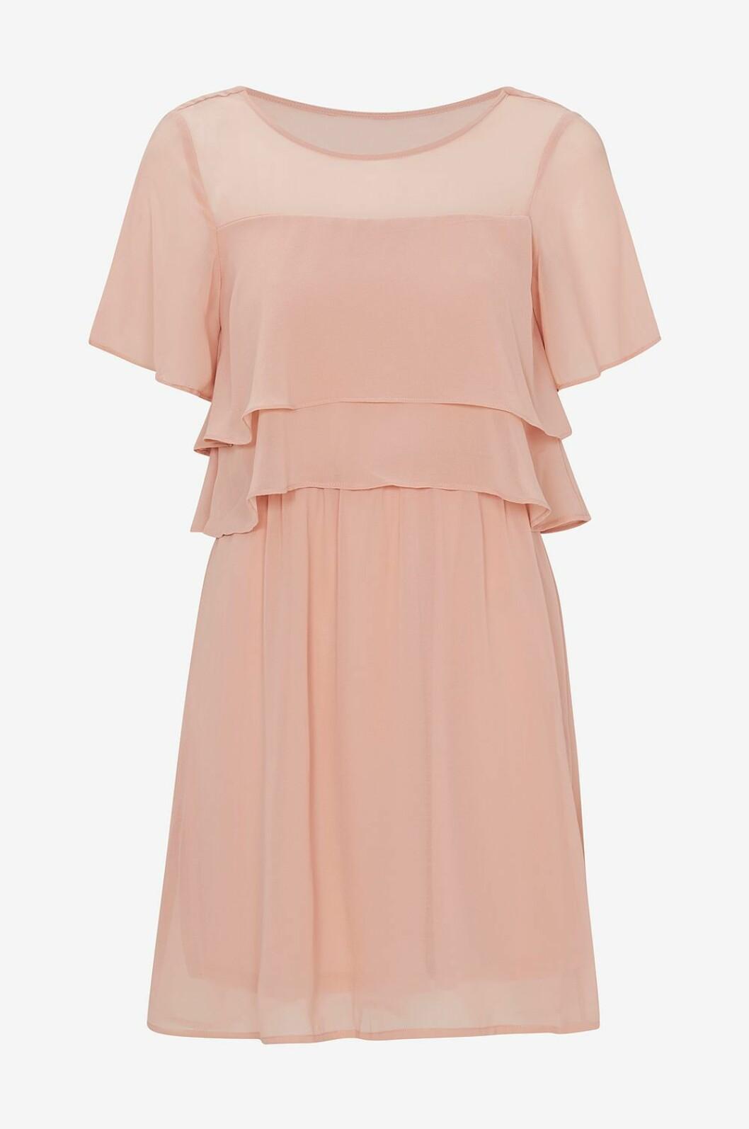 Rosa klänning till skolavslutningen 2019