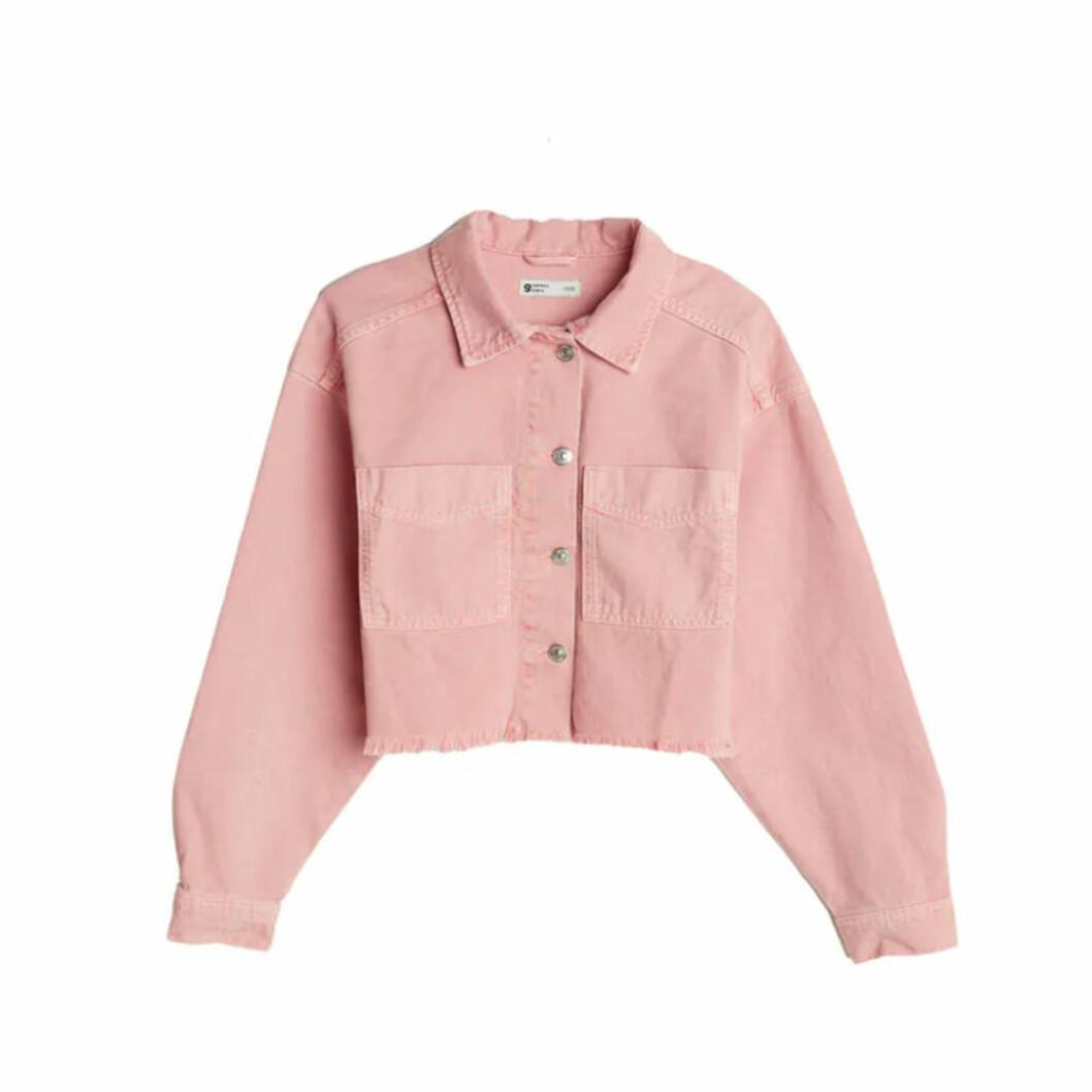 Kort skjortjacka från Gina Tricot
