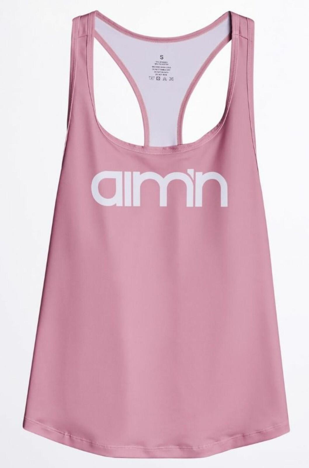 Rosa linne från Gina tricot och Aimn
