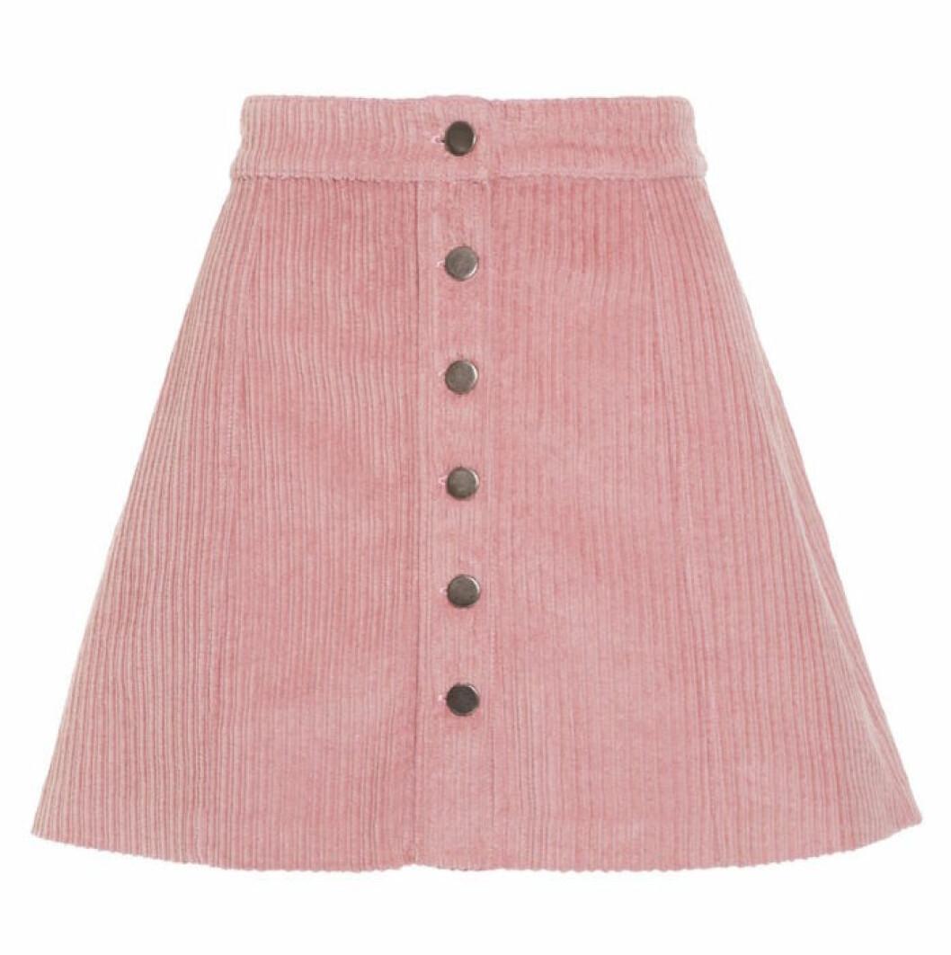 Rosa manchesterkjol