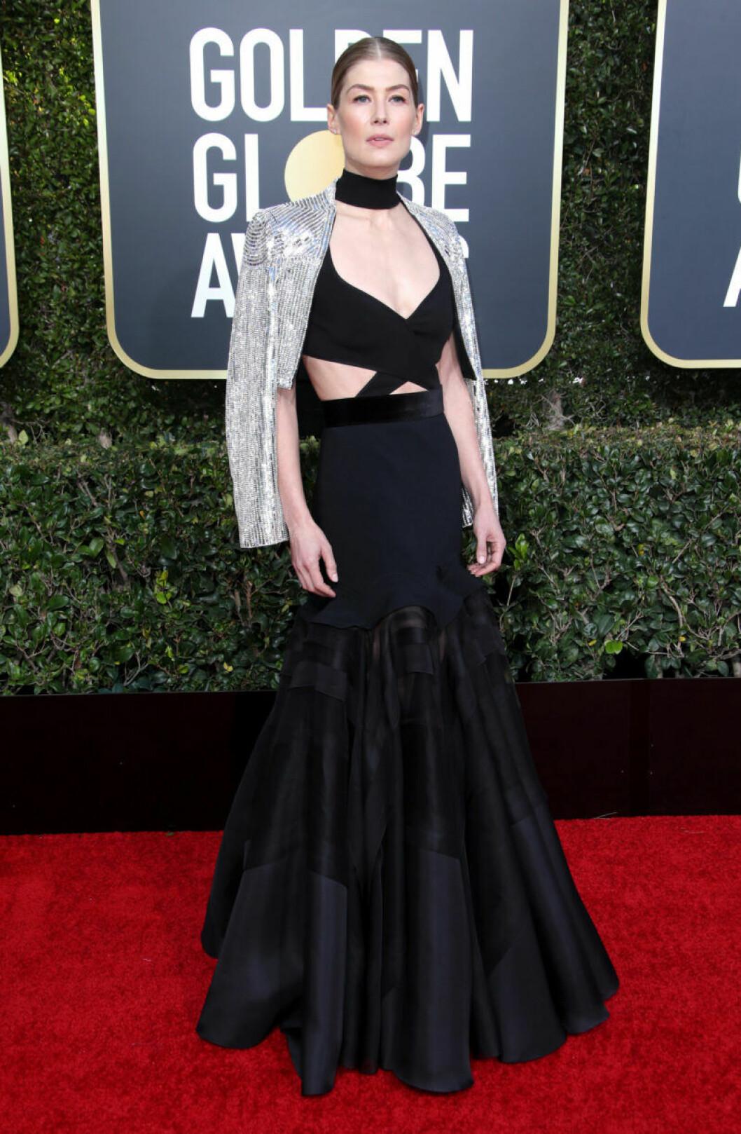 Rosamund Pike på Golden Globe 2019