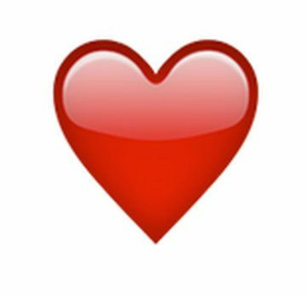vad betyder röda hjärtat snapchat