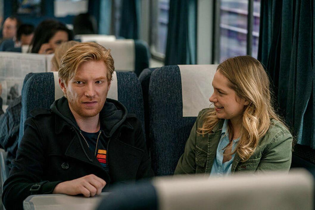 En bild från den nya tv-serien RUN på HBO.