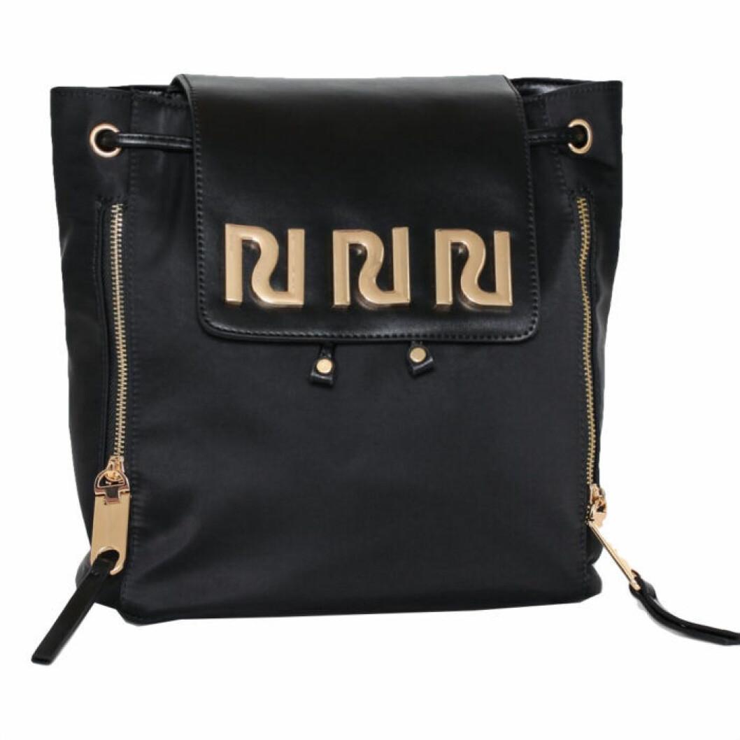 Ryggsäck med guldiga detaljer från River Island