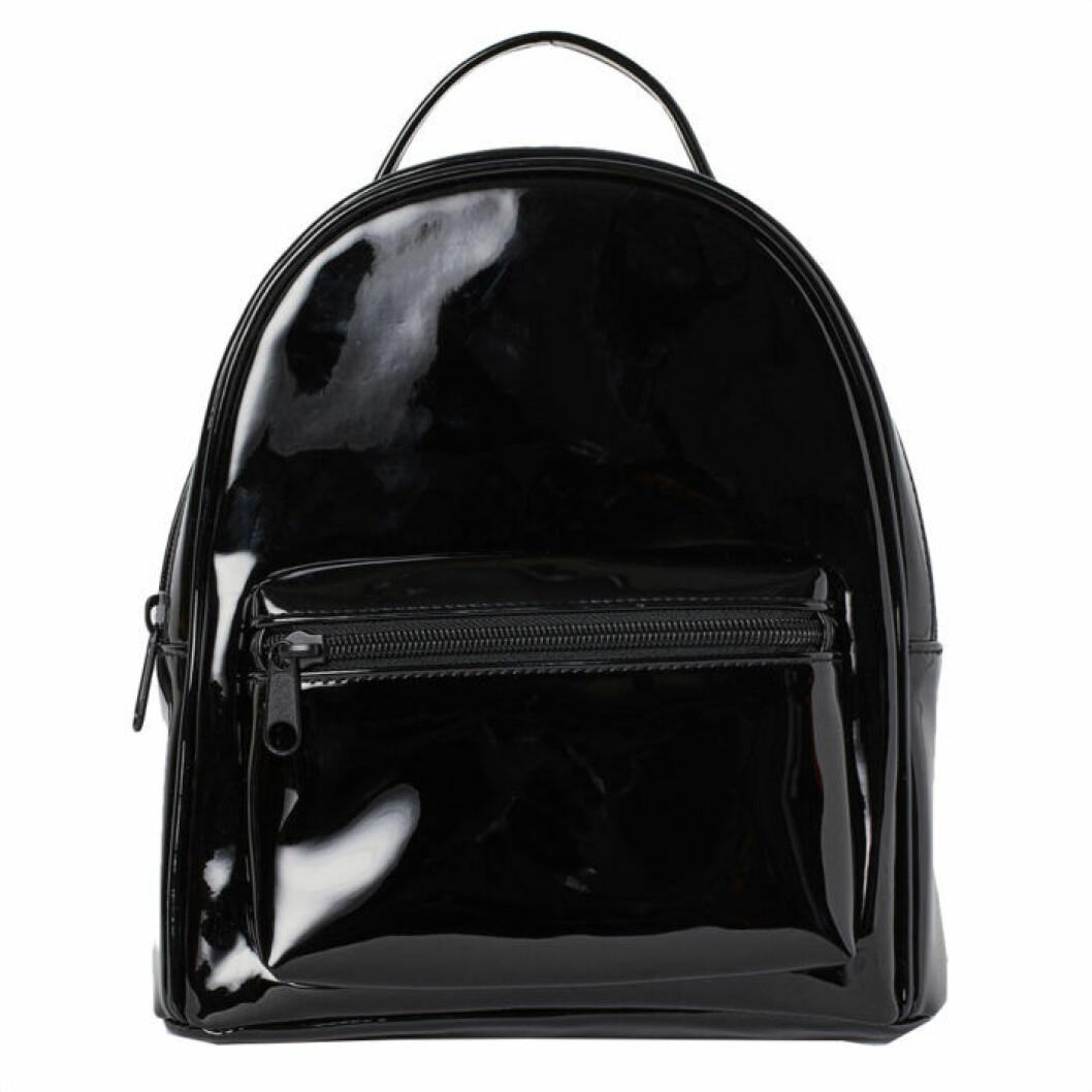 Lackfärgad ryggsäck från H&M