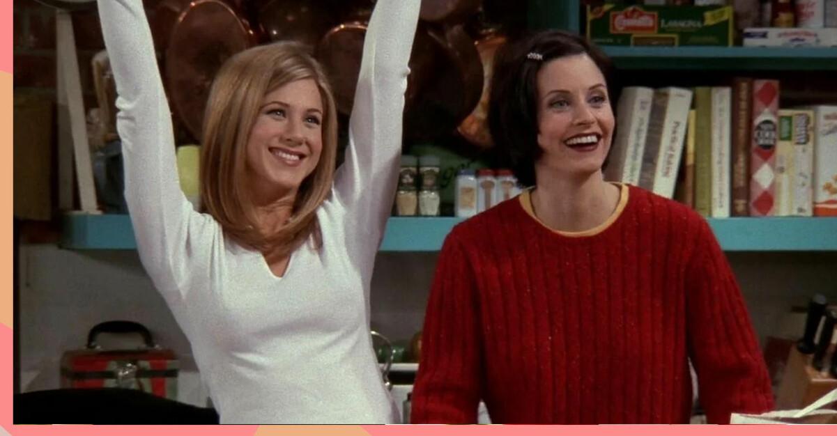 Rachel och Monica