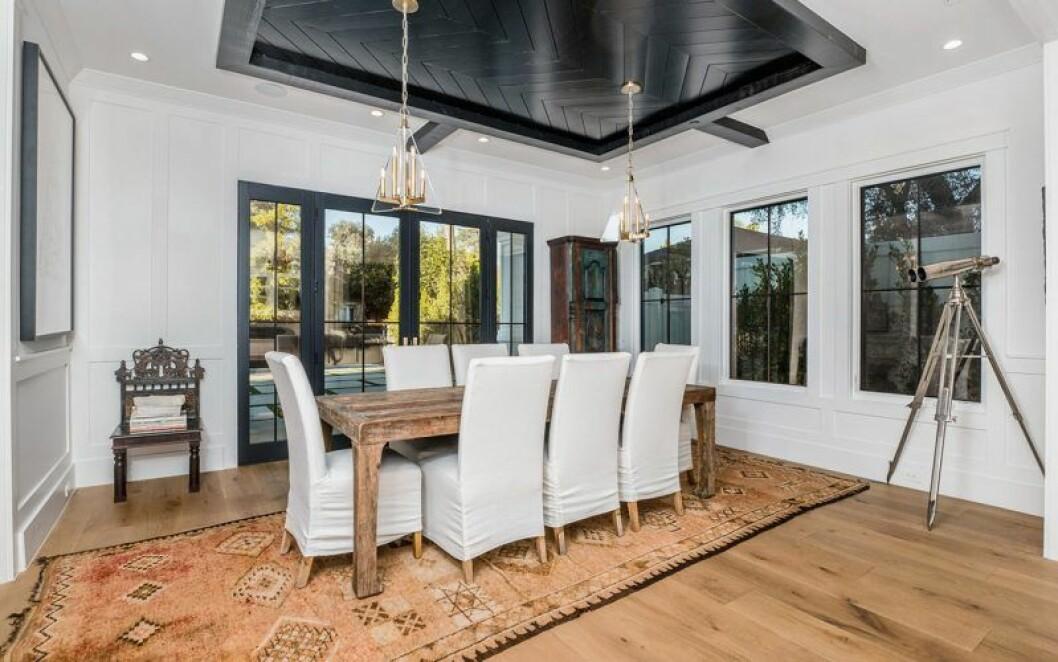 Middagsrum i Sarah Hylands hus