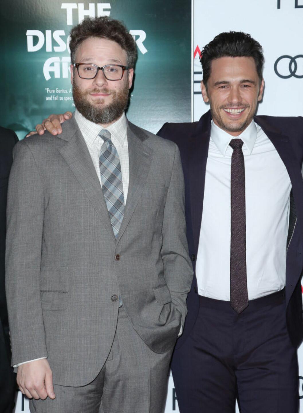 Seth Rogen och James Franco.