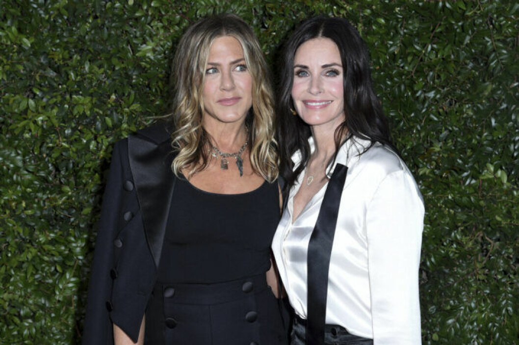 Jennifer Aniston och Courteney Cox.