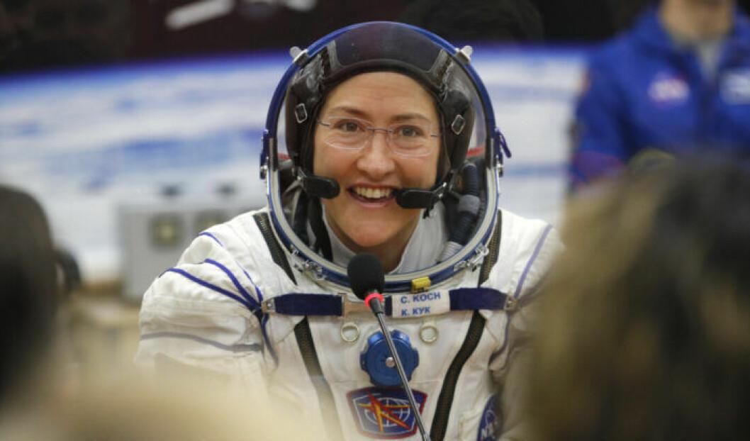 Astronaut Flight Record Peggy Whitson