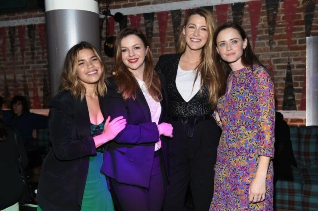 America Ferrera, Amber Tamblyn, Blake Lively och Alexis Bledel.