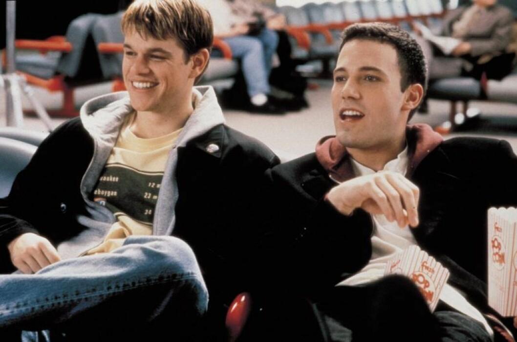 Matt Damon och Ben Affleck växte upp tillsammans.