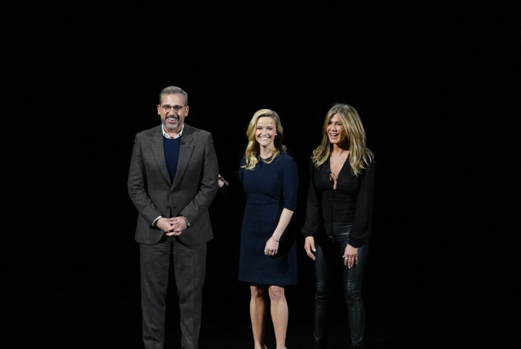 Apple TV Plus: Steve Carrell, Reese Witherspoon och Jennifer Aniston