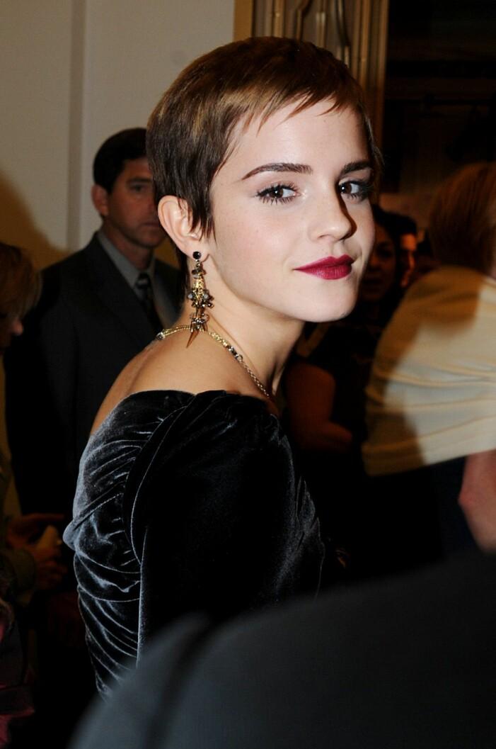 Emma Watson frisyr.