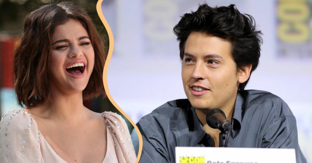 Selena Gomez och Cole sprouse