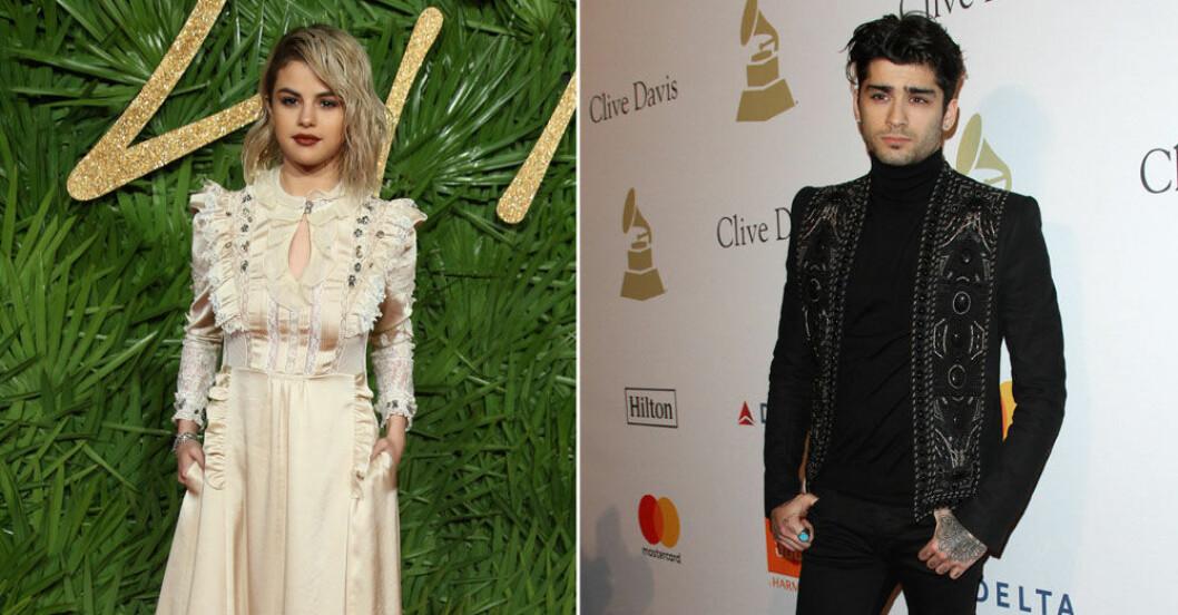 Selena Gomez och Zayn ryktas göra låt tillsammans