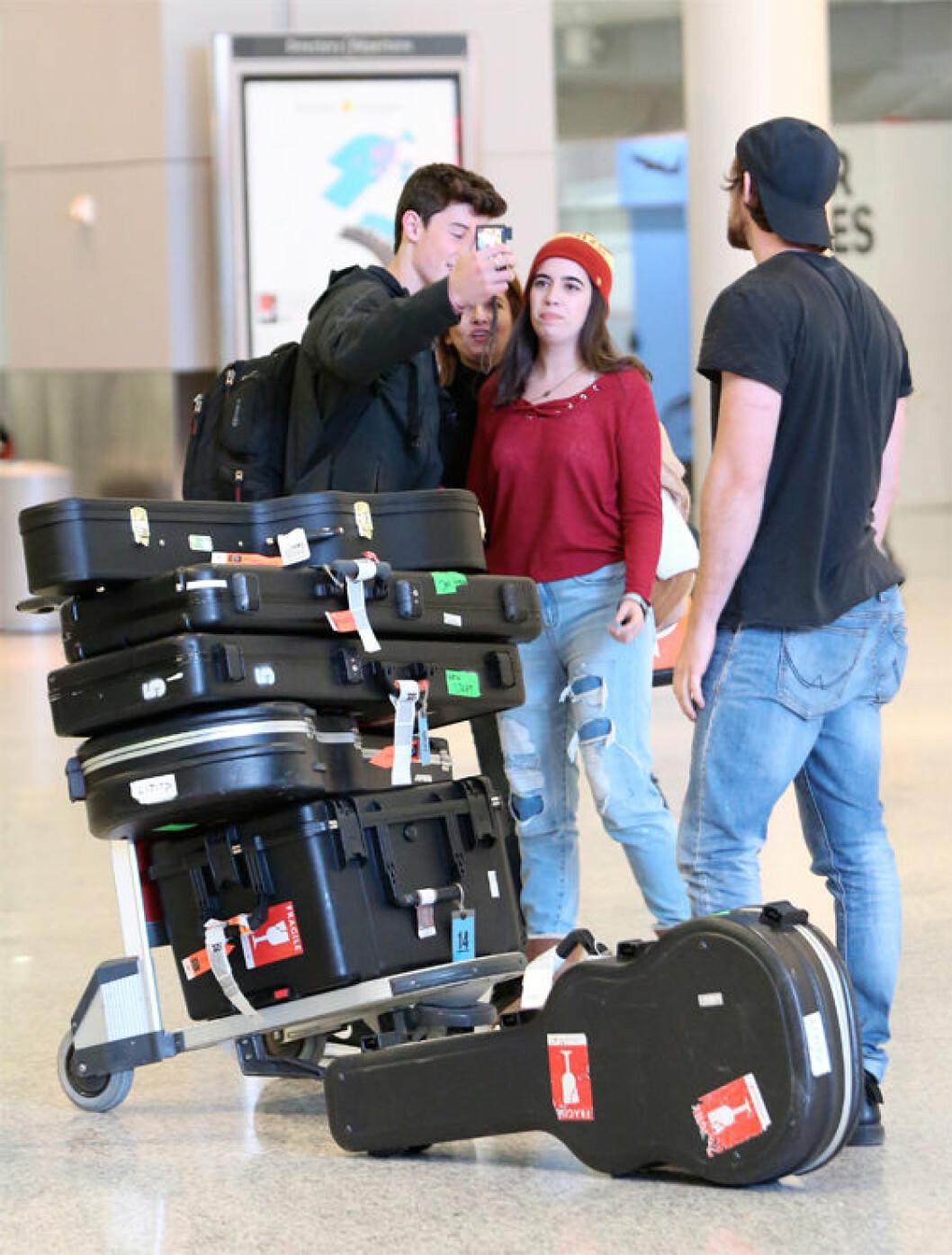 Shawn prioriterar alltid sina fans.
