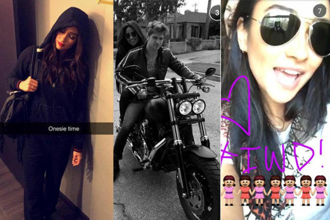 Shay-Mitchell-Snapchat