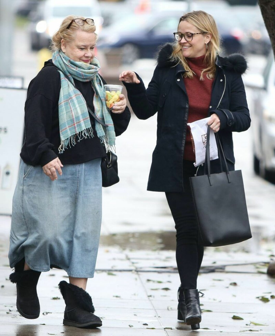 Reese Witherspoon med mamma Betty Reese
