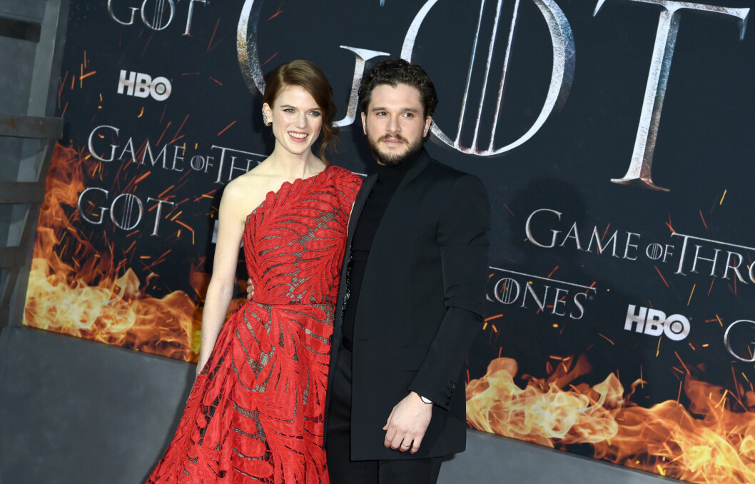 KIT HARINGTON OCH ROSE LESLIE