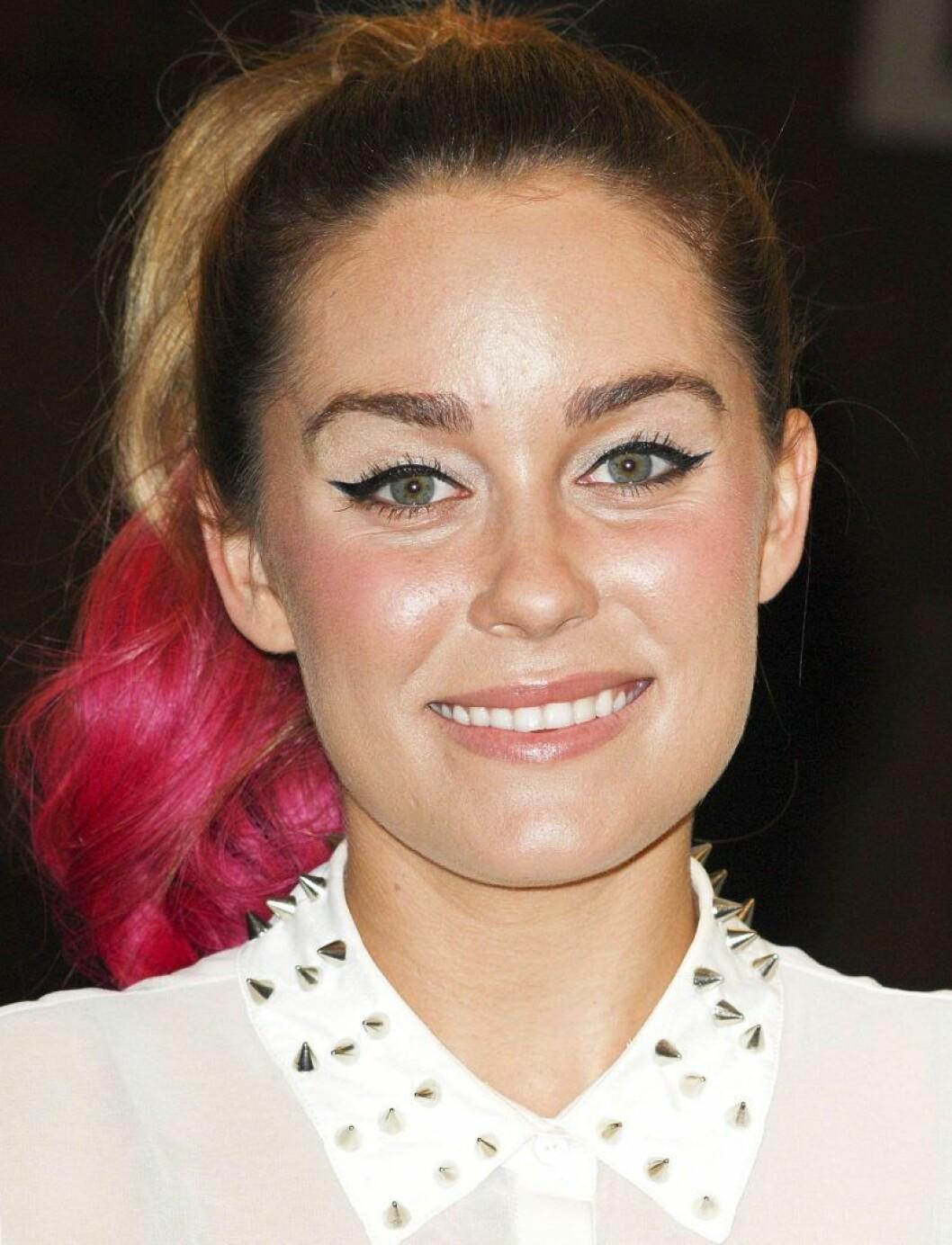 Lauren Conrad i rosa hår