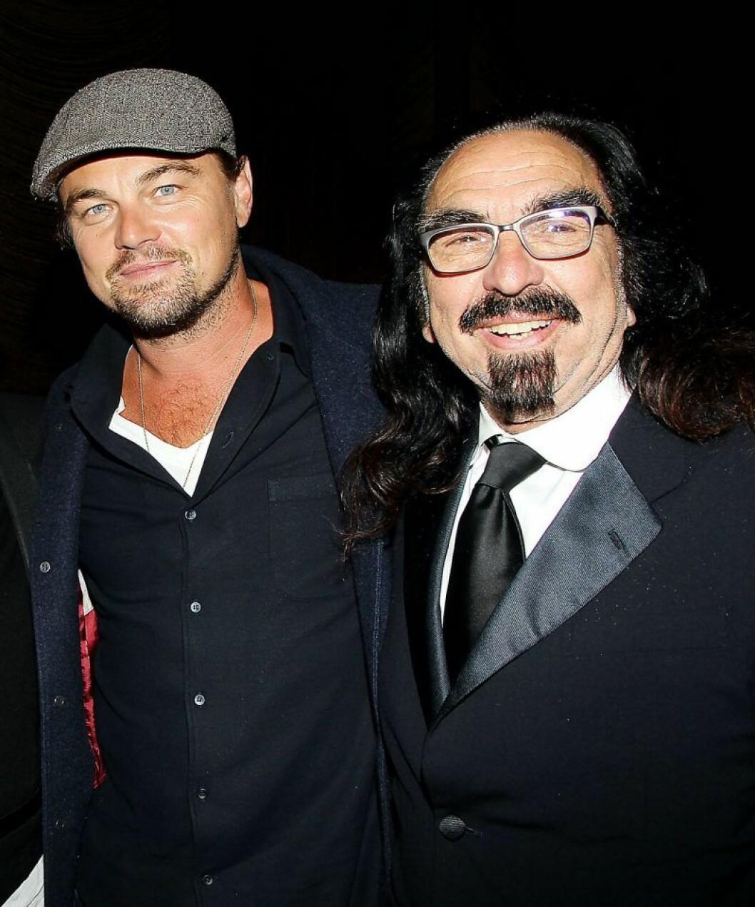 Leonardo DiCaprio med pappa George DiCaprio