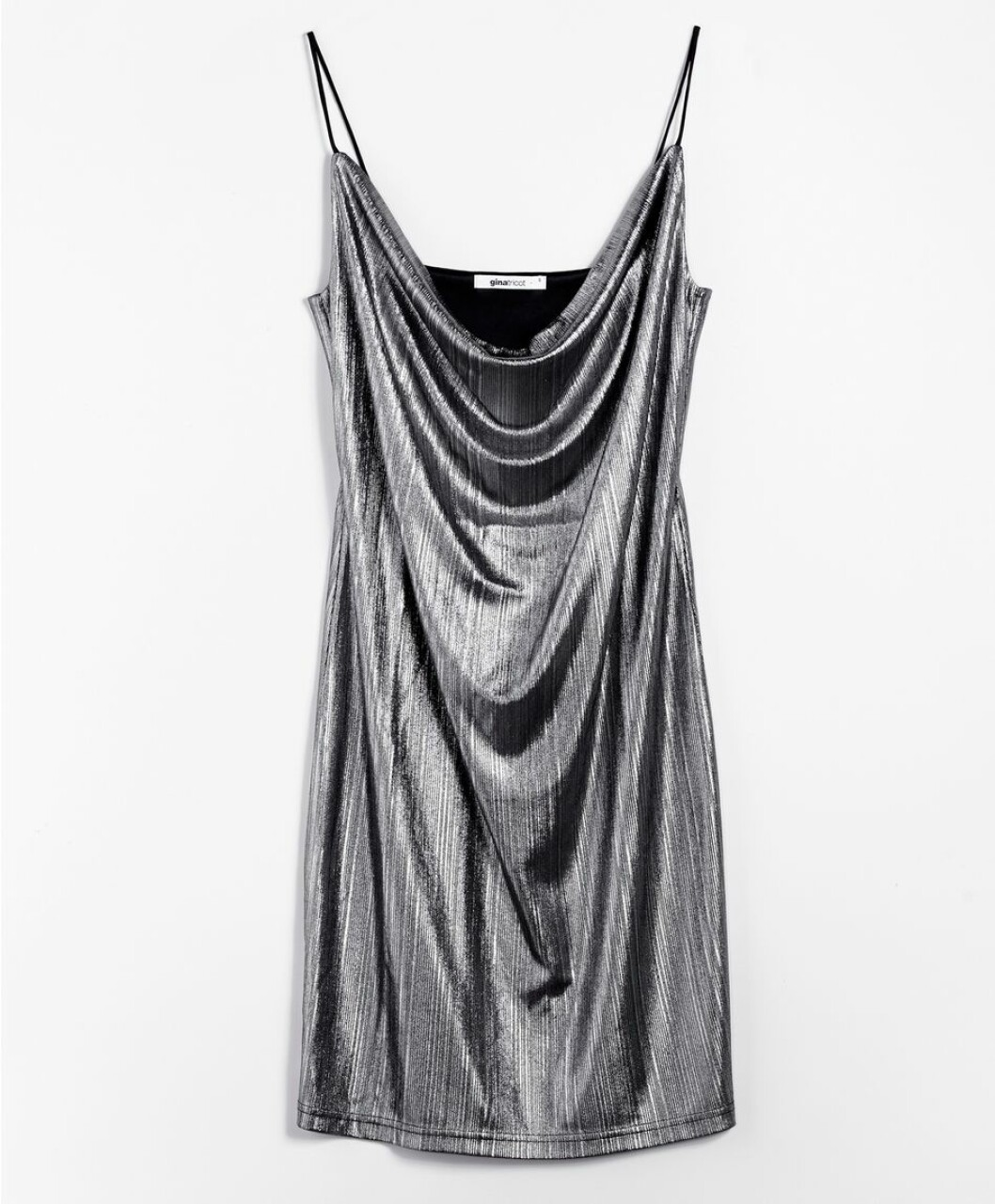 silverklänning gina tricot 2016
